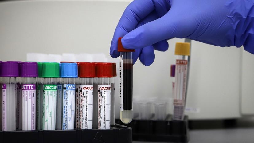 В России за сутки выявили 7843 случая коронавируса
