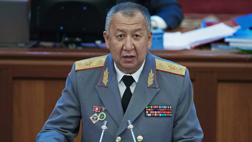 Парламент Киргизии утвердил кандидатуру Боронова на пост премьера