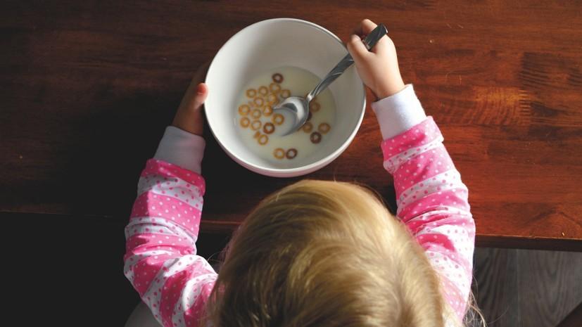 Диетолог рассказала о необходимых продуктах в рационе ребёнка