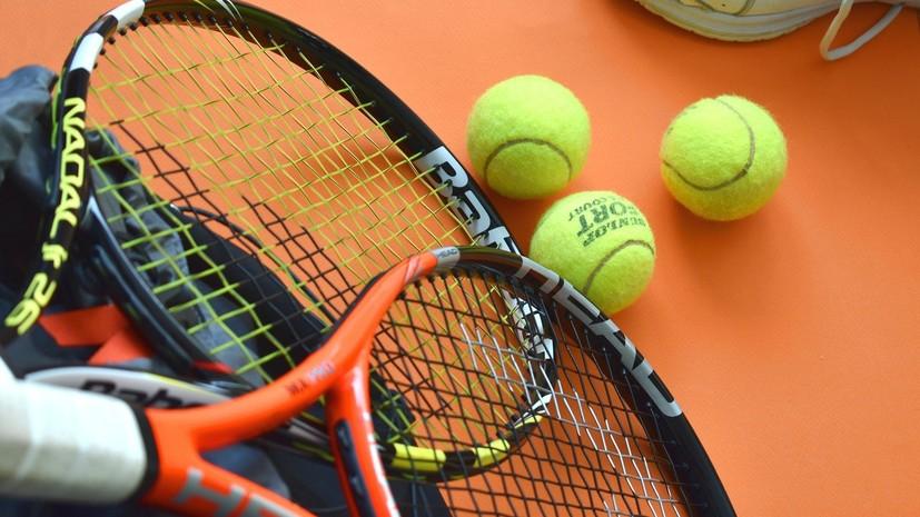 Теннисный сезон возобновится в августе