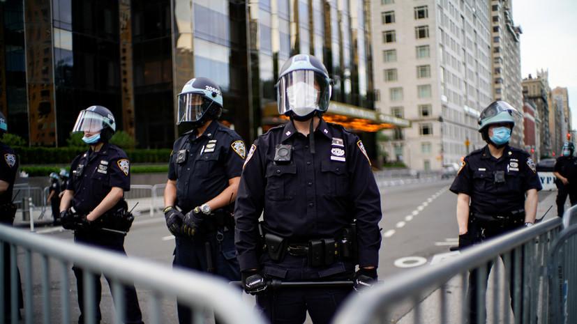 Захарова прокомментировала протесты в США