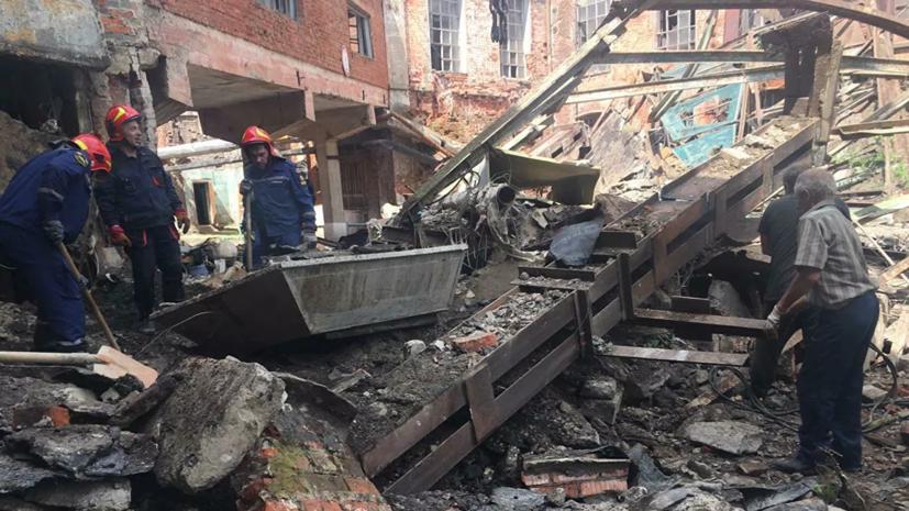 В Ивановской области произошло обрушение перехода на комбинате