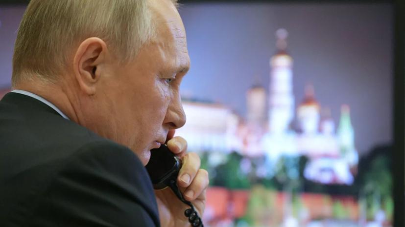 Путин рассказал о звонках внуков в его рабочий кабинет