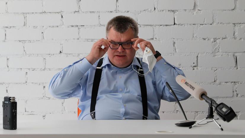 В Белоруссии задержали претендента на пост главы страны Бабарико