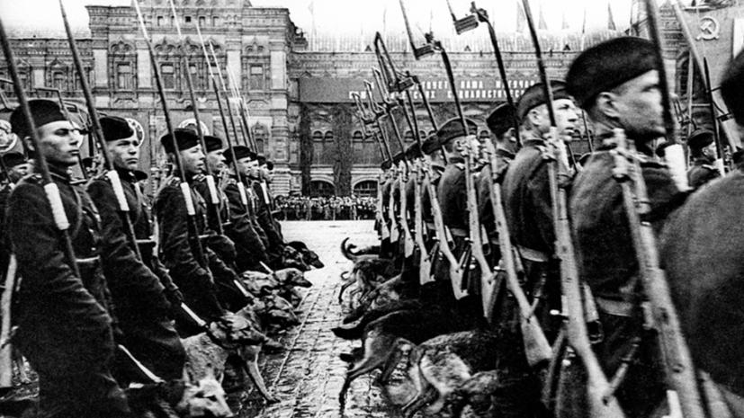 Минобороны опубликовало документы о Параде Победы 1945 года в Москве