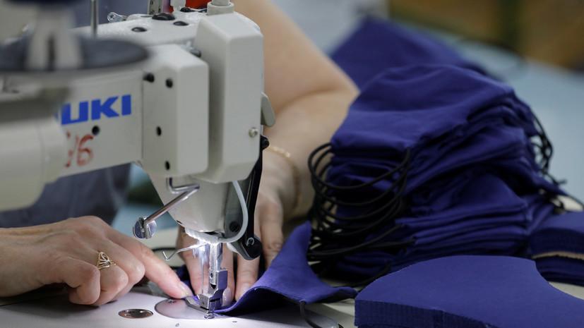 В Минпромторге оценили ситуацию с возможными поставками масок за рубеж
