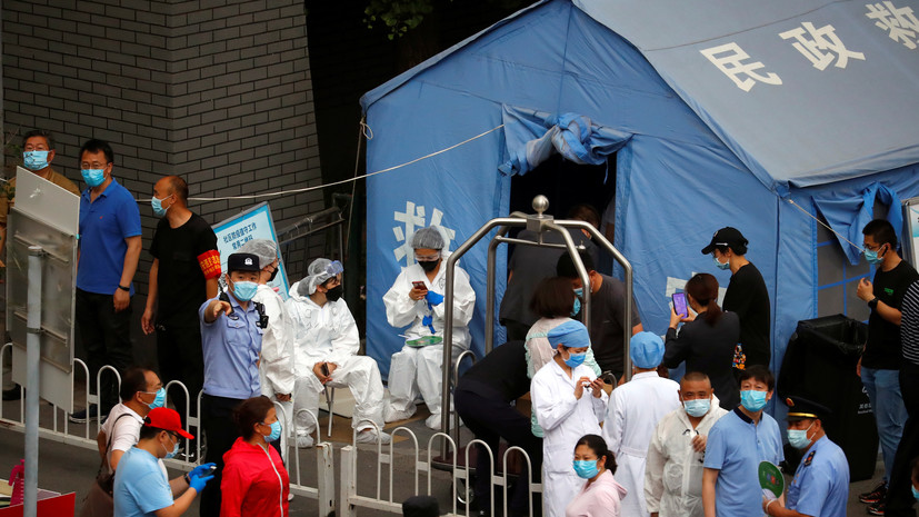 В Китае выявили 32 случая инфицирования коронавирусом за сутки