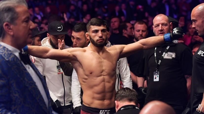 Боец UFC Царукян объяснил свои слова о допинге в российских промоушенах