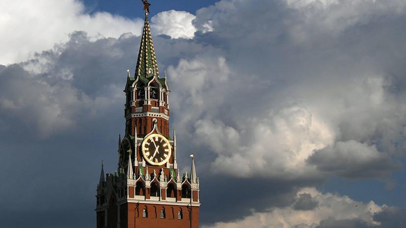 В Кремле прокомментировали события в Белоруссии