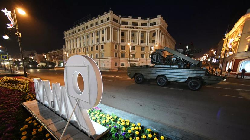 В Приморье рассказали о параде Победы