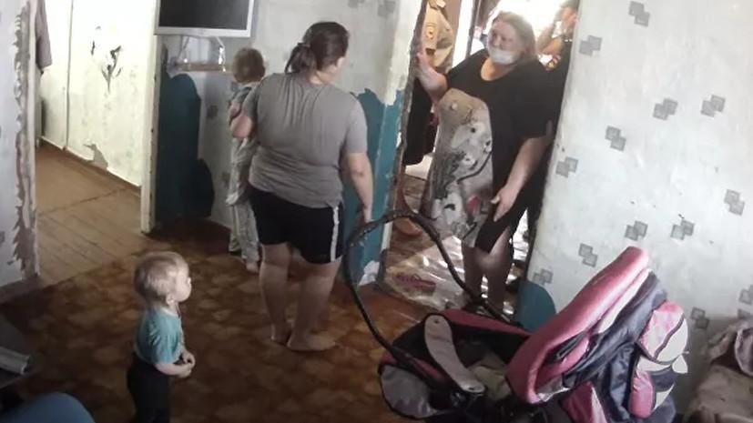 Многодетной семье из Оренбургской области вернули изъятых опекой детей