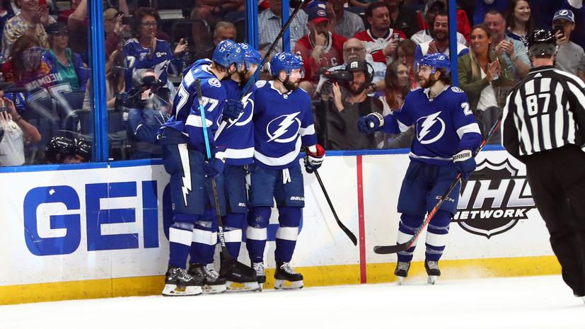 СМИ: Клуб НХЛ «Тампа» остановил тренировки из-за вспышки коронавируса