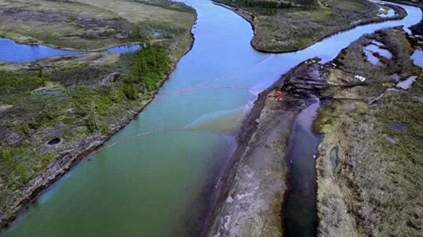 Более 32 тысяч тонн водонефтяной смеси собрано под Норильском