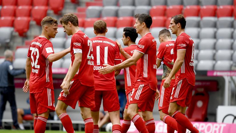 «Бавария» установила новый клубный рекорд по количеству побед подряд