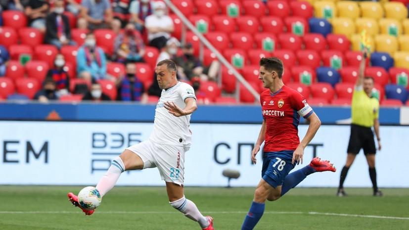 Семак поделился мнением об игре Дзюбы в матче с ЦСКА