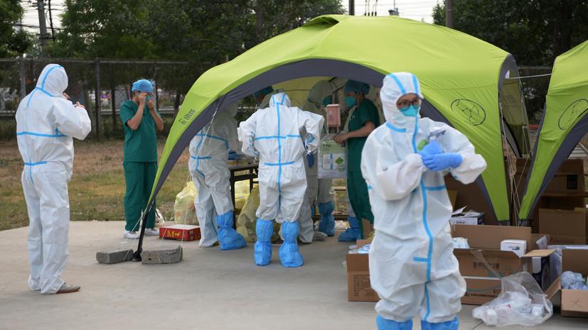 За сутки в КНР выявлено 26 случаев заболевания коронавирусом