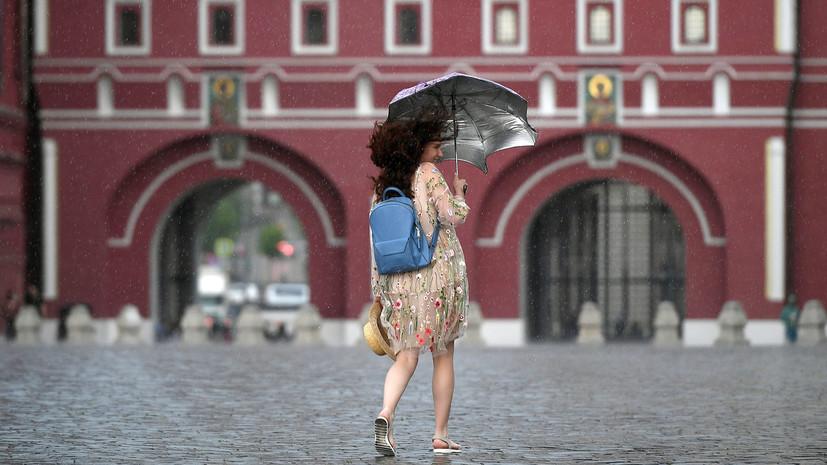 В Москве в июне выпало вдвое больше месячной нормы осадков