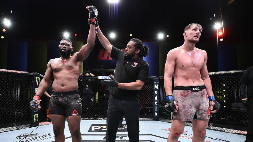 Глава UFC Уайт высказался о поединке Блейдса с Волковым