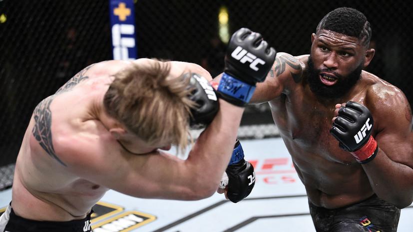 Тактаров высказался о поражении Волкова от Блэйдса на турнире UFC в Лас-Вегасе