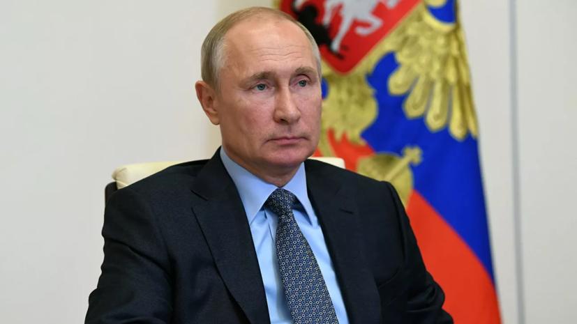 Путин оценил заявления Зеленского о Великой Отечественной войне