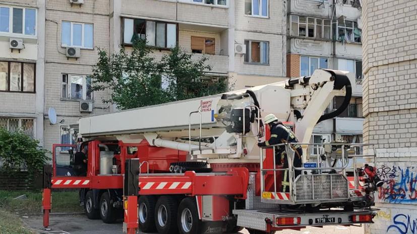 Число погибших при взрыве в доме в Киеве возросло до двух