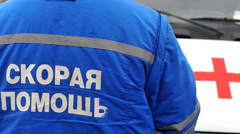 В ДТП с маршруткой в Петербурге погиб один человек