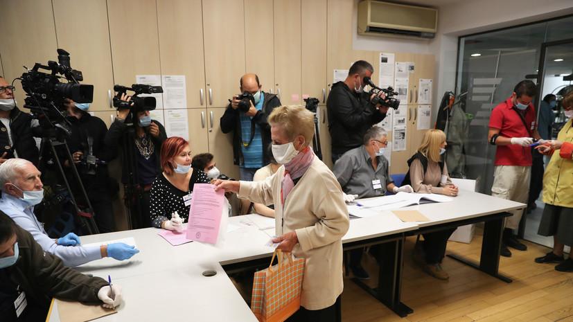 Явка на парламентские выборы в Сербии превысила 33%