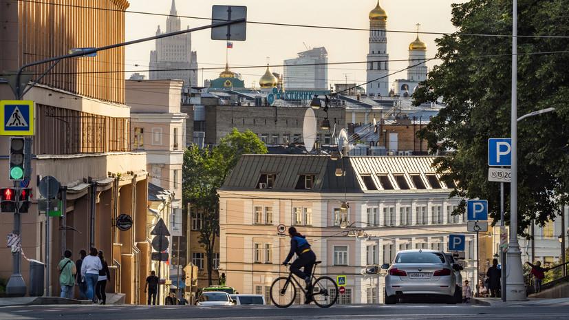 В Москве 22 июня ожидается до +24 °С