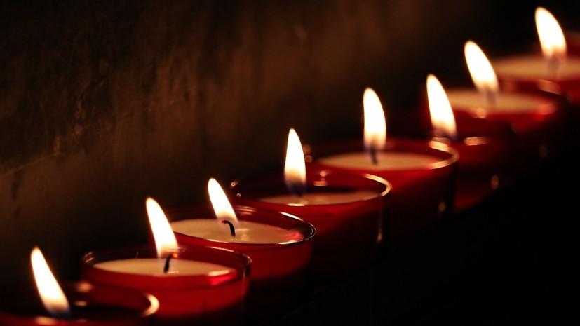 В Калининграде прошла акция «Свеча памяти»