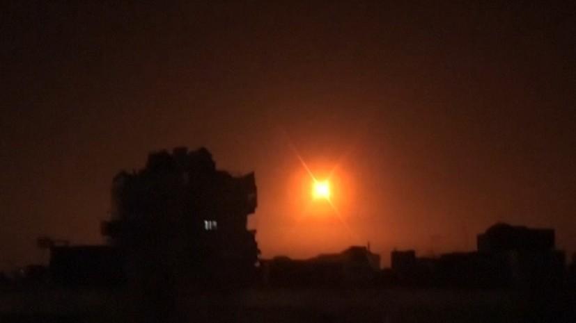 SANA: ПВО Сирии отражает атаку беспилотников в Джебле