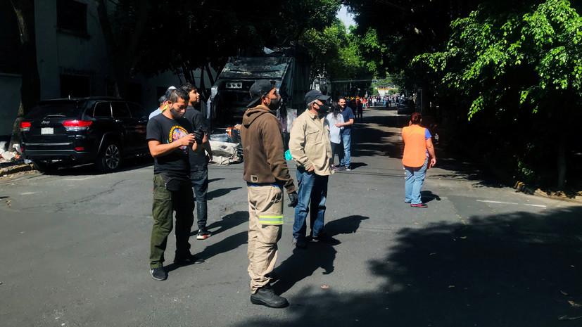 Угроза цунами объявлена после землетрясения в Мексике