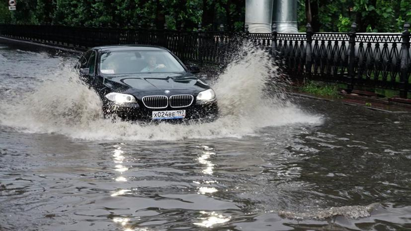 Синоптик прокомментировала сильные ливни в России