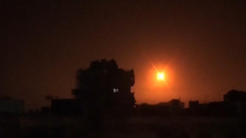 SANA: средства ПВО Сирии отражают ракетную атаку в двух провинциях