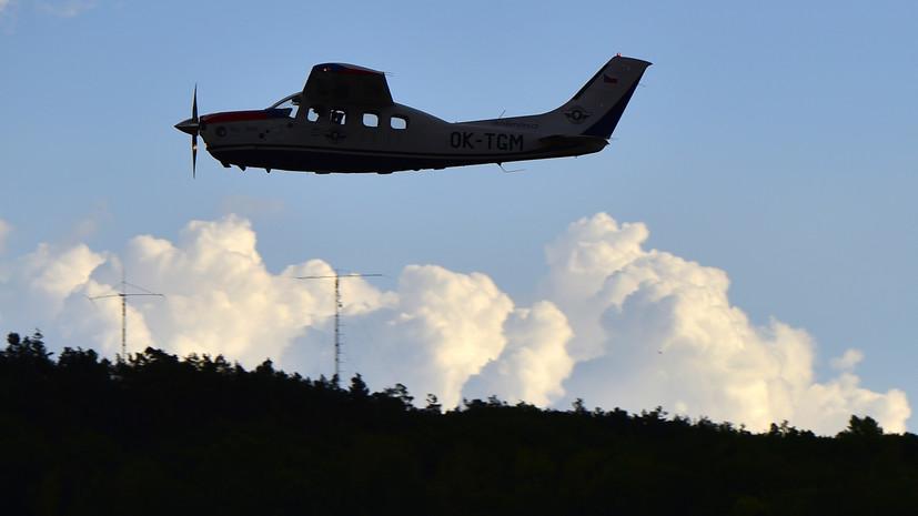 Шесть человек погибли в результате крушения самолёта в Мексике