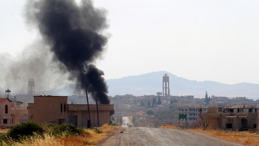 SANA: средства ПВО Сирии отражают ракетную атаку в ещё одной провинции