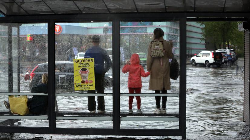 Из-за непогоды на западе Украины подтоплено 187 населённых пунктов