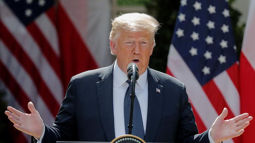 Трамп позитивно оценил переговоры с Россией по ядерному разоружению