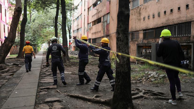 Число жертв землетрясения на юге Мексики возросло до десяти