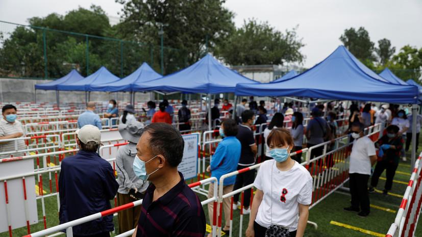 В Китае зафиксировано 20 новых случаев коронавируса