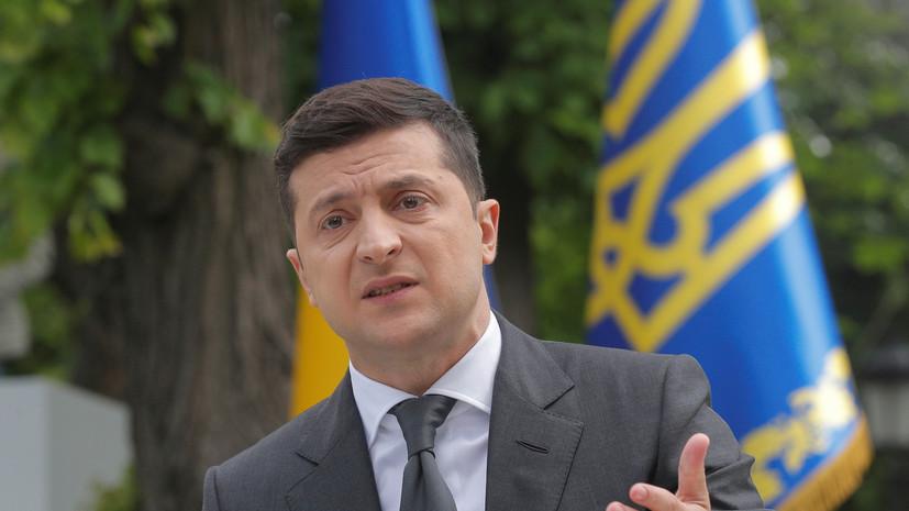 Зеленский заявил, что поражён масштабом наводнений на западе Украины