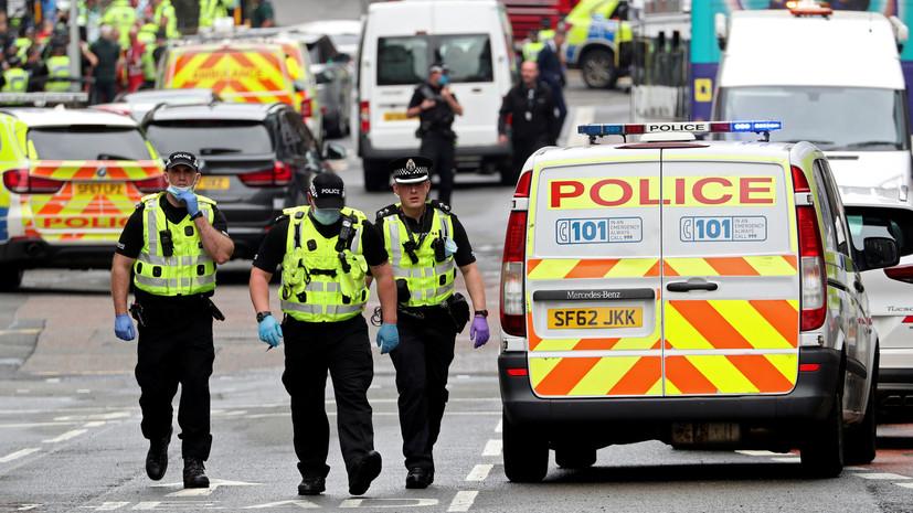 Полиция не считает инцидент в Глазго терактом