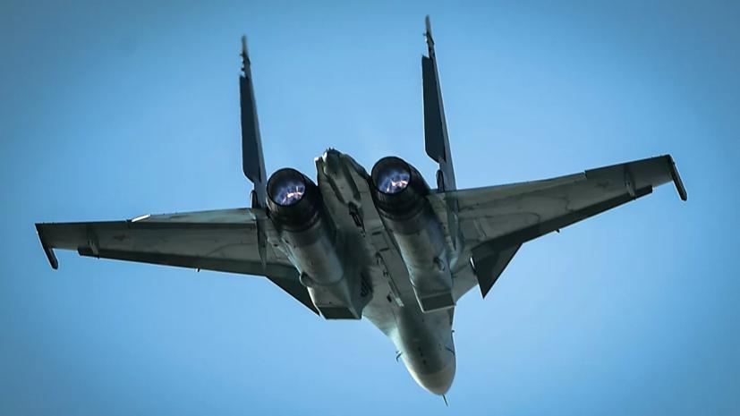 Су-30 подняли для перехвата самолётов-разведчиков США над Чёрным морем