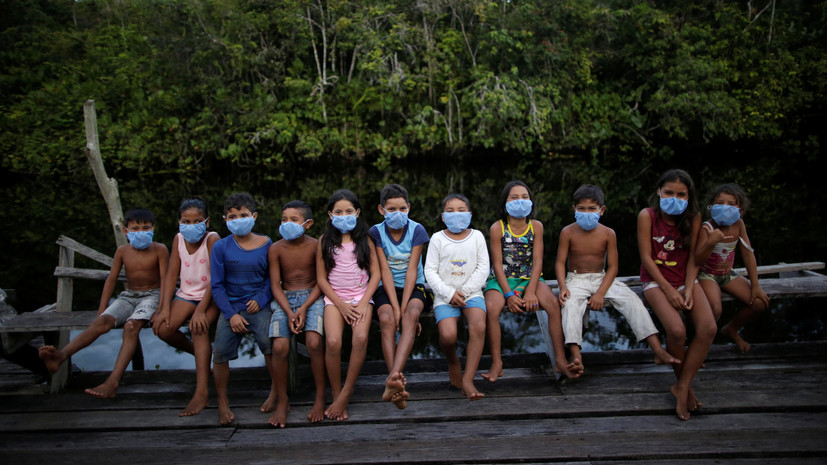 В Бразилии за сутки выявили более 46 тысяч случаев коронавируса