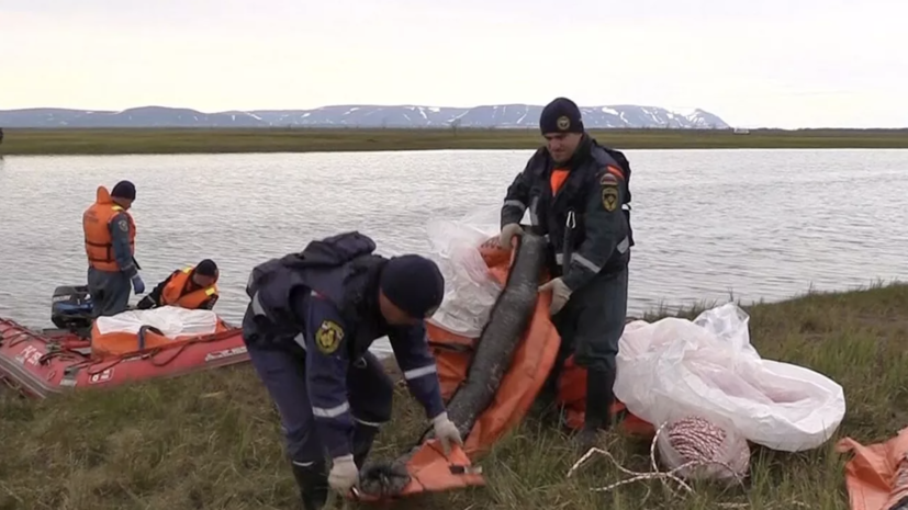 В пробах воды в Норильске не выявлено превышения ПДК нефтепродуктов