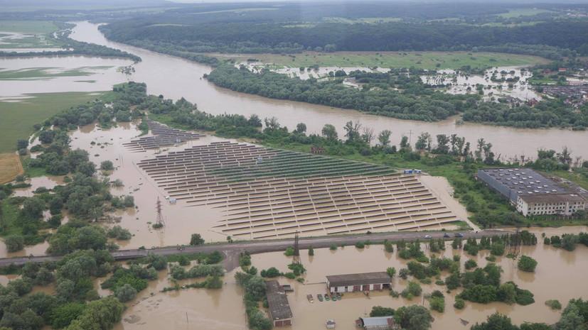 США выделили Украине финансовую помощь в связи с наводнениями