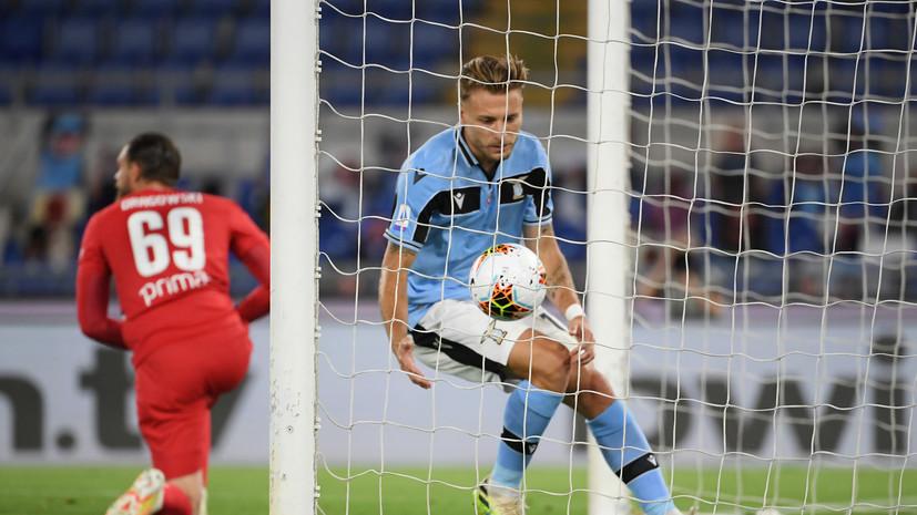 «Лацио» обыграл «Фиорентину» в матче Серии А