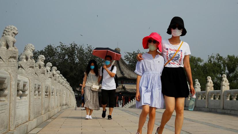 За сутки в КНР выявлено 17 новых случаев коронавируса