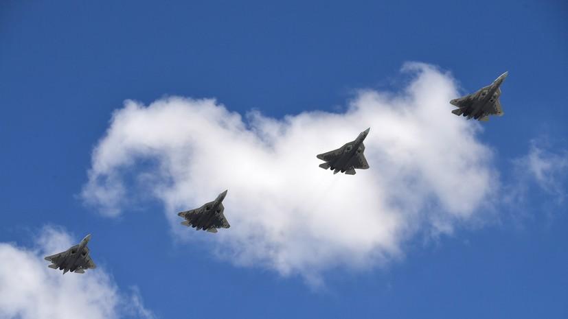 Источник: в России прошли испытания применения «роя» истребителей