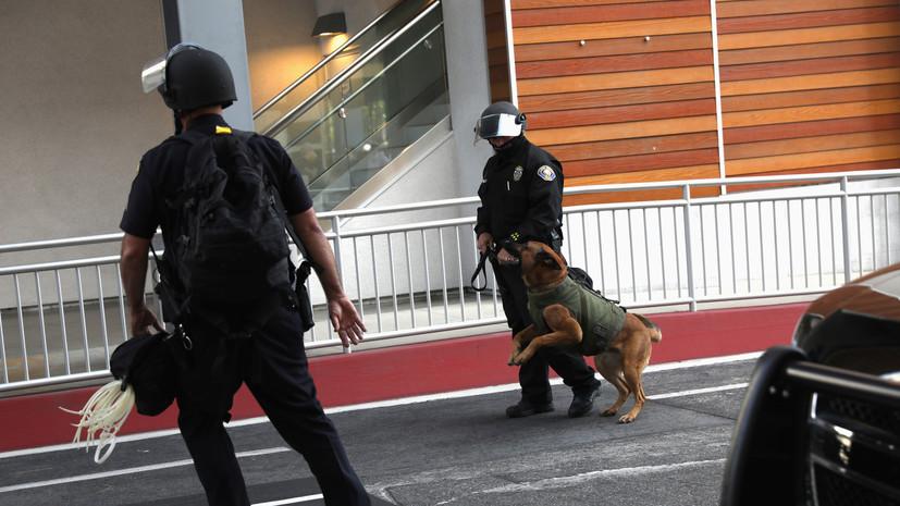 Стрелявший в Калифорнии ранен и задержан
