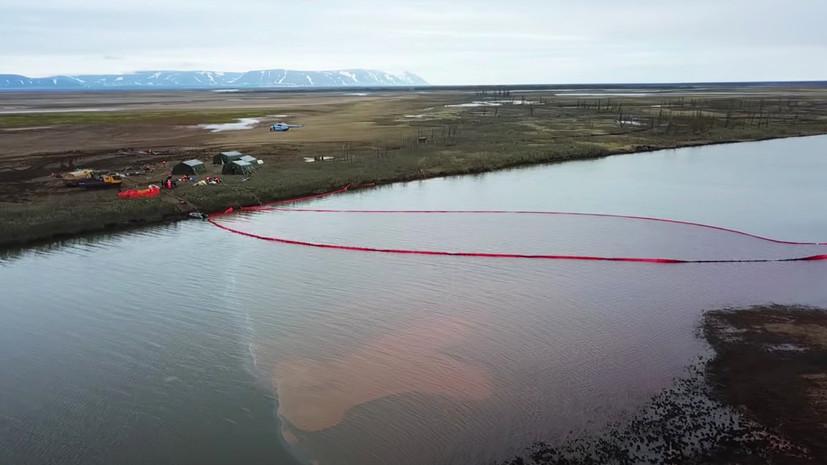 С места ЧП в Норильске вывезено более 153 тысяч тонн загрязнённого грунта